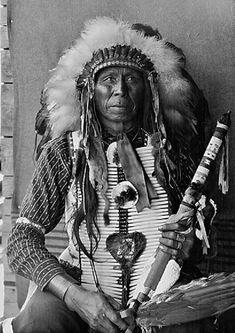Sicangu man, 1908