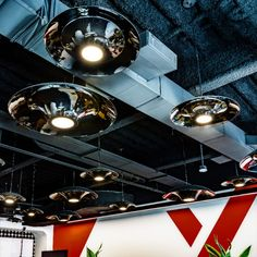Pairing design aesthetics with balanced illumination, ANP Lighting's M+D pendant luminaires have just the right look and proportion for office spaces, restaurants, hotels, retailers, and campuses.