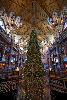 Animal Kingdom Lodge Christmas - maybe this year??