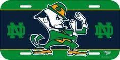 Notre Dame Fighting Irish License Plate