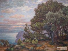 Józef PANKIEWICZ ● Widok morza w La Ciotat, 1927 r. ●