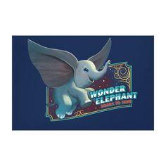 Dumbo Wonder Elephant Soars To Fame Circus Art Fleece Blanket , Dumbo Movie, Circus Art, Cute Elephant, Kid Movies, Vintage Circus, Custom Posters, Canvas Art Prints, Custom Framing, Wrapped Canvas