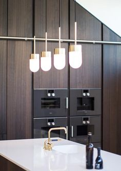 Vox pendant is strong and ambient, it spreads the light around itselft and guides your way in the dark. Get it in brass, copper or white together with shade in opat mat glass. Your simple guide.