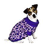 Leopard Print Purple Dog Sweater - $10.85 - $14.85 at The Purple Store