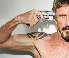 """Maybe what happened didn't actually happen,"" John McAfee told Wired contributing editor Joshua Davis in Belize."