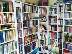 24 Bookshelves That Will Mildly Arouse Any Book Lover