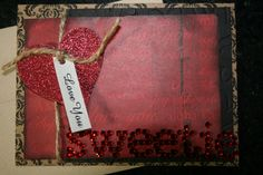 HAND(MADE) VALENTINE'S DAY CARD  NEWLYY LISTED ON Ebay