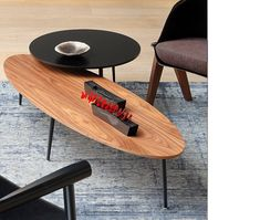 Table basse ovale Soho