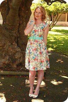 Felicity Dress Sew Along - Full Bust Adjustment and How to Pivot... | Jennifer Lauren Vintage | Bloglovin'