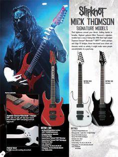 ibanez mick thomson mtm1 signature guitar fuckin 39 mick thomson 7. Black Bedroom Furniture Sets. Home Design Ideas