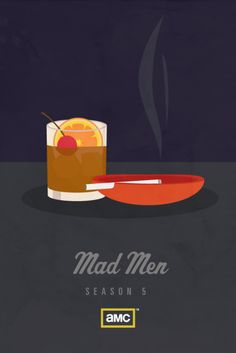 Mad men - Minimal movie posters - www.minimalmovieposters.tumblr.com