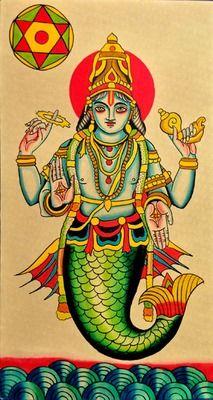 robertryanofjudah:  Matsya-1st avatar of Vishnu-Robert Ryan 2013