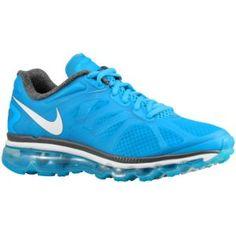 Nike Air Max + 2012 - Women's - Blue Glow/Summit White/Dark Grey