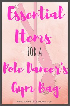 Pole Dance Fitness Clothes And Other Items for your gym bag!
