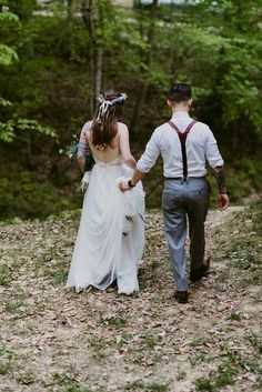 Elopement in the Woods, Elopement Photographer, Adventure Wedding Photographer - The Heartlanders Collective