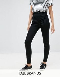Discover women's jeans at ASOS. Shop our wide range of jeans from boyfriend, mom to skinny & ripped jeans. Tall High Waisted Jeans, Tall Jeans, Women's Jeans, Asos, Ripped Skinny Jeans, Skinny Fit, Latest Fashion Clothes, Fashion Outfits, Fashion Online