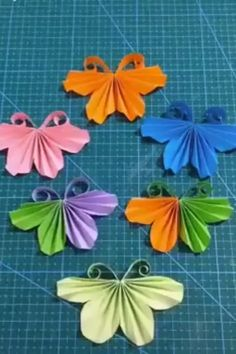 10 Fun and Easy Origami Inspirations DIY Tutorials Videos Diy Crafts Hacks, Diy Home Crafts, Diy Arts And Crafts, Cute Crafts, Diy Craft Projects, Creative Crafts, Paper Flowers Craft, Paper Crafts Origami, Paper Crafts For Kids