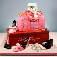 Coach Purse Cakes  Birthday Cake Bag Designs MiraUncut Cooking cakepins.com