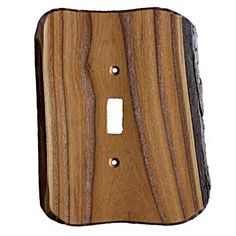 Rustic - 1 Toggle Finished Switchplate Cover