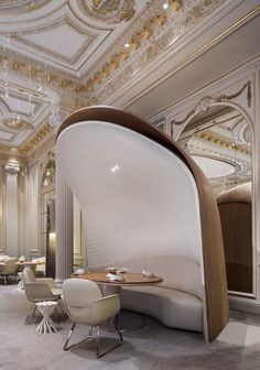 Energy of Opposition: Redesigning the Hôtel Plaza Athénée