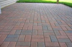Elegant brick walkway in Michigan!