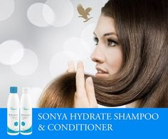 Aloe Vera and Royal Jelly help regulate your dry hair's natural moisture balance, leaving it noticeably cleaner, shinier, healthier, and easier to manage. You will love its pleasant scent of Sonya Hydrate Shampoo & Conditioner, & your hair will love the added moisture; it's also safe for color-treated hair.  Order now: https://shop.foreverliving.com/retail/entry/Shop.do?store=USA&language=en#locations-shop