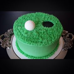 This one is FORE the golfer ! Special Occasion, Wedding Cakes, Golf, Desserts, Wedding Gown Cakes, Wedding Pie Table, Deserts, Wedding Cake, Dessert