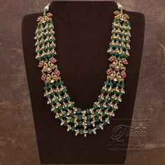 Fancy Jewellery, Gold Jewellery Design, Bead Jewellery, Gold Jewelry, Designer Jewellery, Bridal Jewelry, Jewelery, Beaded Jewelry Designs, Jewelry Design Earrings