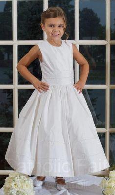 Silk First Communion Dresses