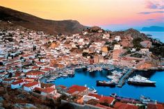 Hydra is one of the Saronic Islands of Greece, located in the Aegean Sea between the Saronic Gulf and the Argolic Gulf.