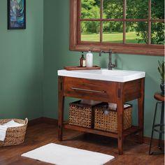 "Ronbow Portland 37"" Single Bathroom Vanity Set   AllModern"