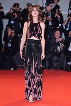 Charlotte Gainsbourg at Venice International Film Festival
