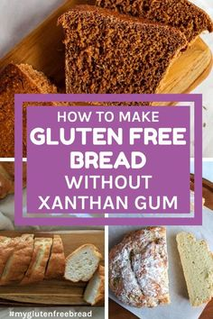 If you have been following me for any time, you will notice that I am slowly converting all my recipes to replace the xanthan gum. Here are some of the best solutions for replacing xanthan gum in your gluten free recipes! #glutenfreebaking #glutenfreebread Healthy Gluten Free Bread, Gluten Free Treats, Gluten Free Flour, Gluten Free Baking, Dairy Free Recipes, Healthy Food, Scones, Gluten Free Thanksgiving, Easy Eat