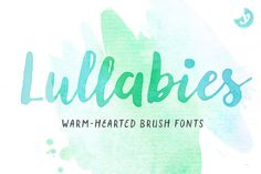 Lullabies Font Family by Yellow Design Studio on @creativemarket