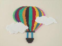 Hot air balloon hama beads by gmzebkr