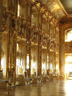 The Ball-Room at Peterhof