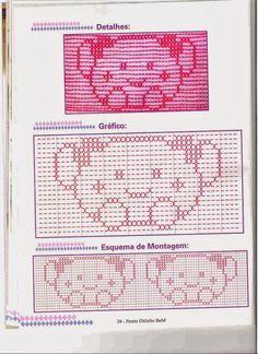Fabinha Gráficos Para Bordados: Mantas para Bebês em Vagonite