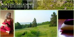 Rolling Meadows, a 100 acre meditation and yoga retreat center in Coastal Maine offering silent retreats. Retreats also in India, Costa Rica, Italy & Sweden