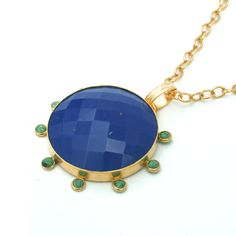 Reames - Lapis + Green Turquoise