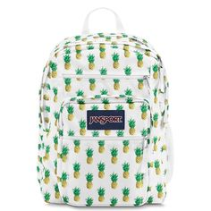 NWT Jansport Backpack in Multi Tropic Gold This bookbag has a super fun pattern of pineapples! Adorable for class or travel, this bookbag has two large main compartments, multiple smaller pockets and a water bottle pocket! Stock photos for now, actual pictures coming soon! Perfect condition, never used! Jansport Bags Backpacks