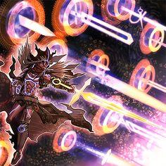 Pendulumgraph of Time-Space by ParryDox on DeviantArt Anime Fantasy, Dark Fantasy Art, Digimon Wallpaper, Character Art, Character Design, Yugioh Monsters, Hacker Wallpaper, Magic Symbols, Fantasy Beasts