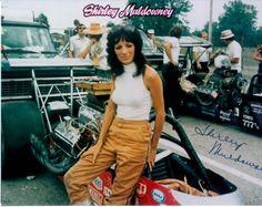 Shirley Muldowney, drag racing legend.