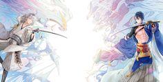 Touken Ranbu & Pokemon Crossover by Cherinova