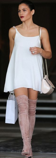 Jenna Dewan-Tatum: Dress – Are you am I  Purse – Givenchy  Shoes – Jean-Michel Cazabat