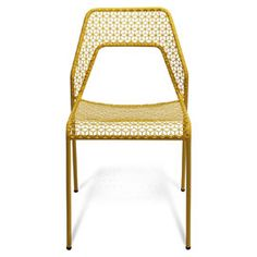 Blu Dot Hot Mesh Chair - 660769 - Hot Mesh Chair Yellow