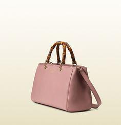 GUCCI Bamboo Shopper Leather Tote Gucci Bamboo, Luxury Fashion, Ready To  Wear e6ecdbcbe11