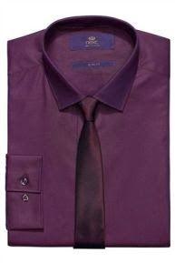 Purple shirt purple tie (I actually have this) Next Sale, Next Mens, Online Sales, Mens Fashion, Shirt Dress, Purple, Mens Tops, Shirts, Bling