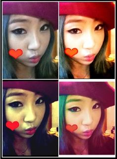 Minzy uploads cute photos with a beret on South Korean Girls, Korean Girl Groups, 2ne1 Minzy, Kpop Girl Bands, Sandara Park, K Pop Star, Kpop Fashion, Yg Entertainment, Cute Photos