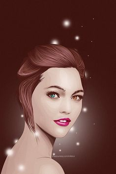 Digital Portraits by Peccatore | Cruzine