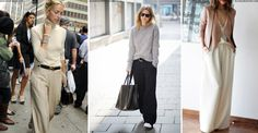 Spotted all over the AW15 catwalks at Loewe, Malene Birger, Saint Laurent and Tom Ford, the wide-leg trouser is officially stealing the limelight from the slim-leg for the season. The new silhouette can seem daunting at first but these high-waisted, supersized beauties will be a flattering and versatile addition to your winter wardrobe.